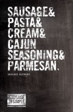 Hillshire Farm Sausage Alfredo. 15 Minutes to Sensational. #SoSimple