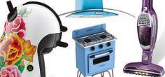 Super tendência: eletrodomésticos coloridos, além da funcionalidade, deixam a casa mais divertida!