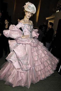 John Galliano for Christian Dior Fall Winter 2007 Haute Couture