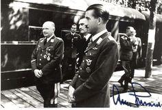Generalleutnant Alfred Gerstenberg, Konteradmiral Wilhelm Mössel, Generalleutnant Adolf Galland