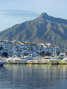 Puerto Banus Marina, Marbella, Malaga Province, Andalucia, Spain Photographic Print  #www.frenchriviera.com