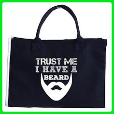 Trust Me I Have A Beard - Tote Bag - Totes (*Amazon Partner-Link)