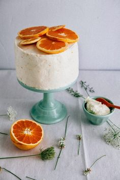 Hummingbird High - A Desserts and Baking Food Blog in Portland, Oregon: Chocolate Orange Cake with Salted Cream Cheese Frosting