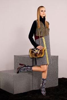 See the complete Fendi Pre-Fall 2014 collection.