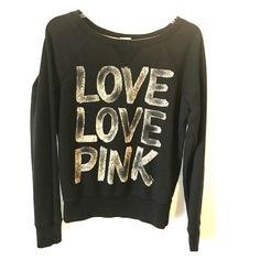 Shop Women's PINK Victoria's Secret Black size S Sweatshirts & Hoodies at a discounted price at Poshmark. Description: Awesome graffiti look sweatshirt with a cheetah print heart on the back. Sold by theprincessc. Fast delivery, full service customer support.
