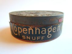 Copenhagen snuff - tin $17 Memories of my Grandpa