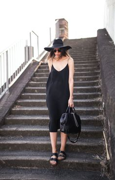 how to wear a slip dress this summer                                                                                                                                                      More