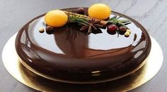 37 ideas cake chocolate glaze for 2019 Fancy Cakes, Mini Cakes, Cupcake Cakes, Pear And Almond Cake, Almond Cakes, Chocolate Cupcakes Decoration, Cake Recipes, Dessert Recipes, Decoration Patisserie
