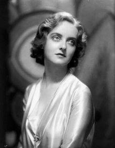 Bette Davis in 1930.Beautiful photo of her.