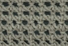 My Tunisian Crochet: Tunisian Chain Lace