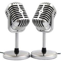 Tüm stresinizi şarkı söyleyerek atmaya ne dersiniz? Vintage Karaoke Mikrofon, kendinizi keşfetmeniz için harika bir ürün...  http://www.buldumbuldum.com/hediye/vintage_karaoke_mikrofon/