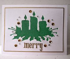 Morning Glory Card Studio: another Christmas card. . . .