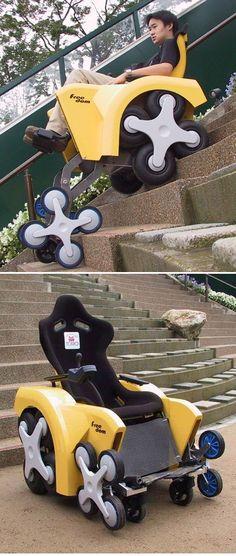 stair climbing #wheelchair