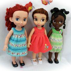 New knitting pattern for Disney Animators  Dolls!