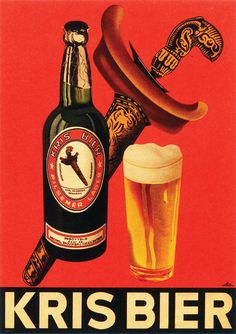 Kris Bier Advertising in the Dutch East-Indies (Nederlands-Indië). A reminder of the Tempo Doeloe. Vintage Advertising Posters, Vintage Advertisements, Vintage Ads, Vintage Posters, Vintage Photos, Retro Ads, Guinness Advert, Awsome Pictures, Nightclub Design