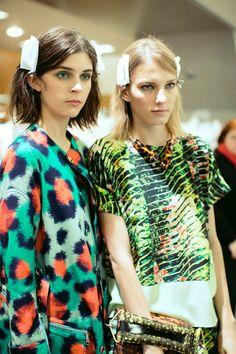 Dazed Digital   Kenzo Womenswear SS13