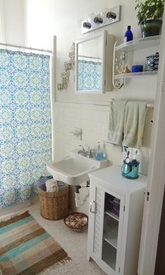 36 Bright Bohemian Bathroom Design Ideas | DigsDigs