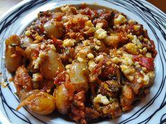 Γίγαντες πλακί με φέτα(4 μονάδες)   Diaitamonadwn.gr Cookbook Recipes, Diet Recipes, Vegan Recipes, Cooking Recipes, Kung Pao Chicken, Feta, Sweet, Ethnic Recipes, Soups