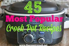 45+Most+Popular+Crock+Pot+Recipes