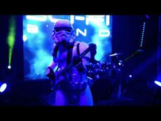 ▶ Star Wars Parody (Sci-fi band) - YouTube with a mystery DJSS tutor in the hot section. All those soul band rehearsals haven't gone to waste