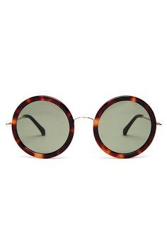 25c7f9ea09 The Row Oversized round-framed sunglasses Round Lens Sunglasses