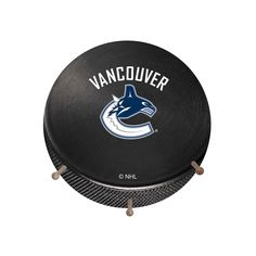 Vancouver Canucks Hockey Puck Coat Hanger, Multicolor