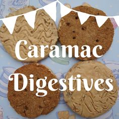 Mrs Bishop's Bakes and Banter - Caramac Digestive Biscuits recipe