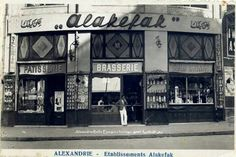 Ala Kefak restaurant, Ancient Alexandria