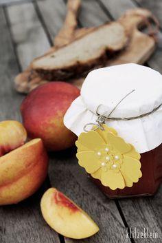Nektarinen Marmelade - das probier ich am Wochenende aus!