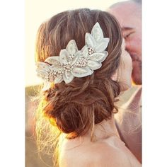 Chic Vintage Bridal Hair Dos via Polyvore