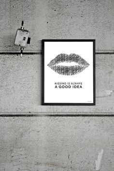 Kissing is always a good idea #Formelledesing #johannaeklöf