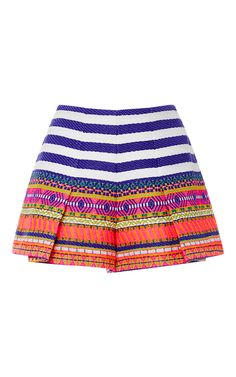Karly Pleated Shorts by ALEXIS Now Available on Moda Operandi