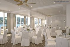 CGI of the new Function/Weddings suite at Salcombe Harbour Hotel & Spa - opening August 2013