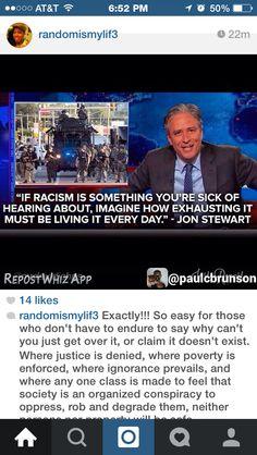 D Ferguson Riot, Darren Wilson, Jon Stewart, Sick, Day, John Stewart