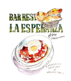 Food Sketches on trip 2014-5 on Behance
