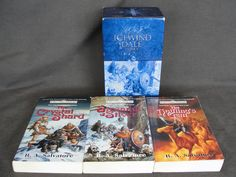 Boxed 3 Volume R. A. Salvatore Icewind Dale Trilogy Drizzt 2001 AD&D