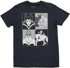 Disney Villains Men's T-Shirt in Black. M-2XL. Disney https://www.amazon.com/dp/B01JFBFK22/ref=cm_sw_r_pi_dp_x_Ql95zbYVBMZPS