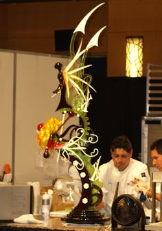 Blown Sugar Art Pieces | Results are in for the 2009 National Team Pastry Championships