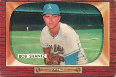 1955 Bowman #140 Bobby Shantz Front