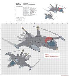 Bravo and Echo Disney Planes cross stitch pattern - 2856x3136 - 3072593