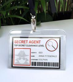 Spy Party Printables, Invitations & Decorations | Secret Agent