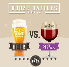There are many pros and cons associated with drinking beer and wine. But can you guess which is the healthier beverage?