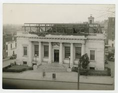 Post Office Roof Addition 1935