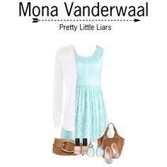 Pretty Little Liars by seen-on-tv on Polyvore featuring Tory Burch, Relic, Bobbi Brown Cosmetics, women's clothing, women's fashion, women, female, woman, misses and juniors