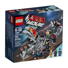LEGO Movie 70801 Melting Room - Includes minifigures (Emmet, Wyldstyle and a Robo SWAT) with assorted weapons Sports Games For Kids, Toys For Boys, Kids Toys, Lego Movie Sets, Lego Sets, Legos, Lego Age, Lego Building Sets, Buy Lego
