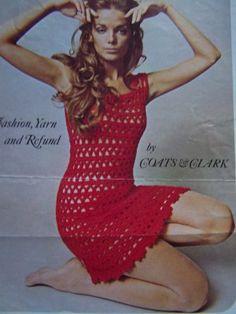 Free Crocheted Womens Dress Patterns - Gamecrux