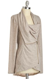 Airport Greeting Cardigan in Oatmeal | Mod Retro Vintage Sweaters | ModCloth.com