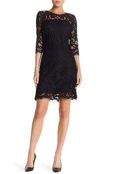 Taylor - Lace Shift Dress