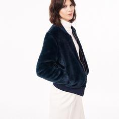 GANT Luxury Fur Bomberjacka