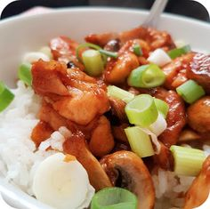 Quick and easy rice bowls!